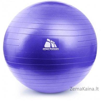 Gimnastikos kamuolys Meteor 65 cm Violetinis