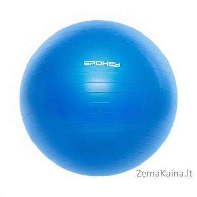 Gimnastikos kamuolys Spokey FITBALL III 65 cm (Mėlyna)