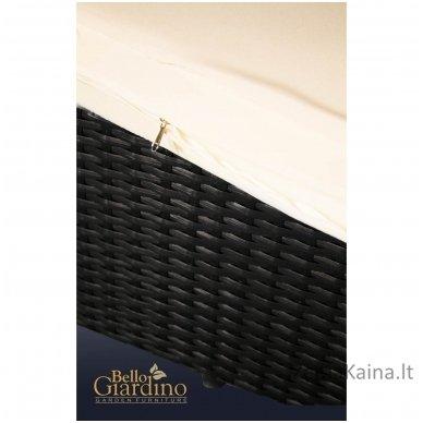 Gultas Bello Giardino Tacito juodas 8