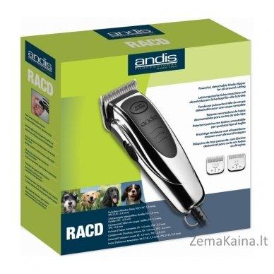 Gyvūnų kirpimo mašinėlė ANDIS RAC-DL 60185 5