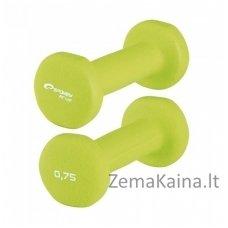 Hanteliai Spokey SHAPE 2x0.75 kg
