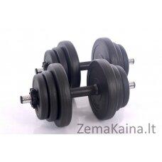 """Hantelių rinkinys """" Sport """" 2 x 10 kg"""