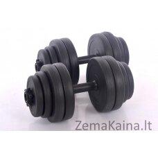 """Hantelių rinkinys """" Sport """" 2 x 15 kg"""