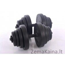 """Hantelių rinkinys """" Sport """" 2 x 20 kg"""