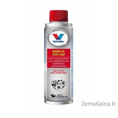 Hermetikas varikliui ENGINE OIL STOP LEAK 300ml, Valvoline