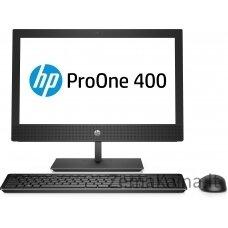 "HP ProOne 400 G4 50,8 cm (20"") 1600 x 900 pikseliai 8 kartos ""Intel® Core ™ i3"" 4 GB DDR4-SDRAM 1000 GB HDD Juoda Viskas viename kompiuteryje Windows 10 Pro"