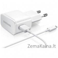 Įkroviklis Samsung ETA-U90EWE 10W Original Travel Adapter + Micro USB Cable White