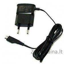 Įkroviklis Samsung ETA0U10EBE Micro USB Original Travel Charger 700 mA Black