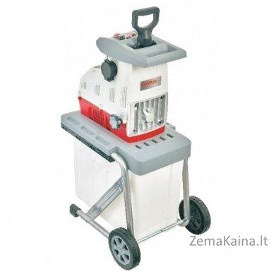 Elektrinis šakų smulkintuvas 3 kW Ikra Mogatec ILH 3000 A