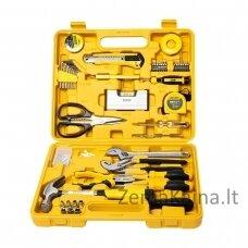 Įrankių komplektas Deli Tools EDL1048J 48 vnt.
