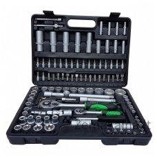 Įrankių raktų ir galvučių komplektas BENSON TOOLS, 108 dalių