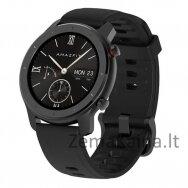 "Išmanusis laikrodis Amazfit GTR 42 smartwatch AMOLED 3.05 cm (1.2"") Black GPS (satellite)"