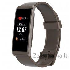 Išmanioji fizinio aktyvumo stebėjimo apyrankė MyKronoz Smartwatch Zefit 4 HR (Ruda)
