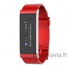 Išmanioji fizinio aktyvumo stebėjimo apyrankė MyKronoz Smartwatch Zefit 4 (Raudona)