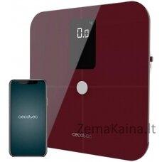 Išmanios svarstyklės Cecotec Surface Precision 10400 Smart Healthy Vision Garnet