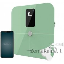 Išmanios svarstyklės Cecotec Surface Precision 10400 Smart Healthy Vision Green