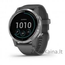 Išmanus GPS laikrodis Garmin Vivoactive 4/4S  Shadow Grey/Silver