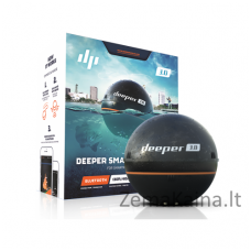Išmanusis echolotas Deeper Smart Fishfinder 3.0, Bluetooth