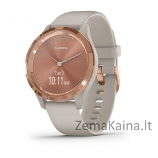 Išmanusis laikrodis Garmin Vivomove 3S  Rose gold/light sand/silicone band