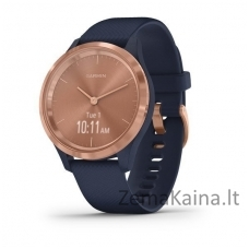 Išmanusis laikrodis Garmin Vivomove 3S Rose gold/navy/silicone band