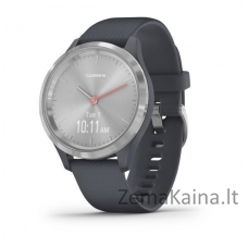 Išmanusis laikrodis Garmin Vivomove 3S Silver/granite blue/silicone band