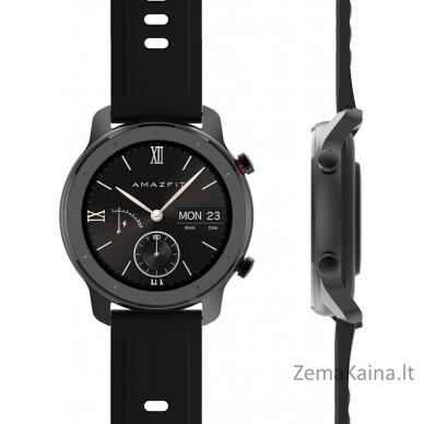 "Išmanusis laikrodis Amazfit GTR 42 smartwatch AMOLED 3.05 cm (1.2"") Black GPS (satellite) 2"