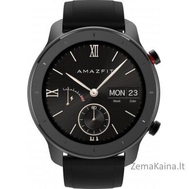 "Išmanusis laikrodis Amazfit GTR 42 smartwatch AMOLED 3.05 cm (1.2"") Black GPS (satellite) 3"
