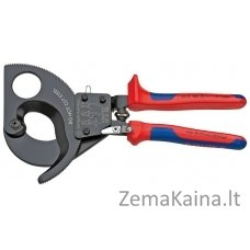 Kabelių kirpimo terkšlinės žirklės D52mm/380mm2, Knipex
