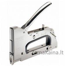 Kabių pistoletas R28E kabeliams iki 4,5mm. Nr 28 kabės PRO, Rapid