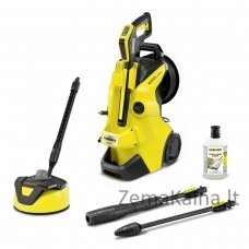 Kärcher K 4 PREMIUM POWER CONTROL HOME pressure washer Upright Electric 420 l/h Black, Yellow