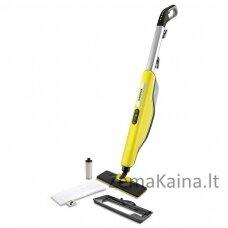Kärcher SC 3 Upright EasyFix Upright steam cleaner 0.5 L Black, Grey, Yellow 1600 W