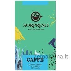 Kavos pupelės SORPRESO Caffe 250g