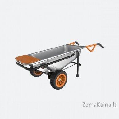 Multifunkcinis karutis Worx Aerocart WG050, 80 l