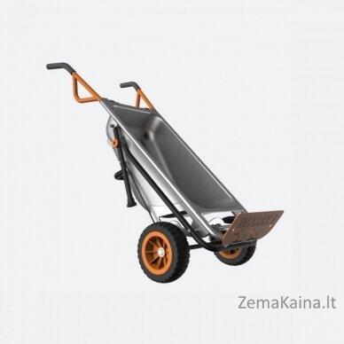 Multifunkcinis karutis Worx Aerocart WG050, 80 l 6