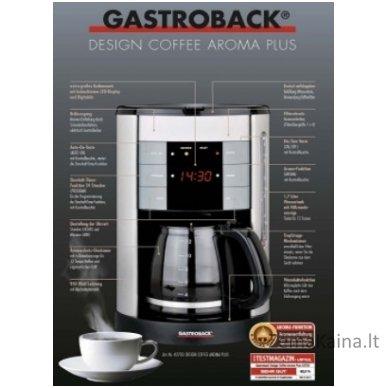 Kavos aparatas GASTROBACK 42703 3