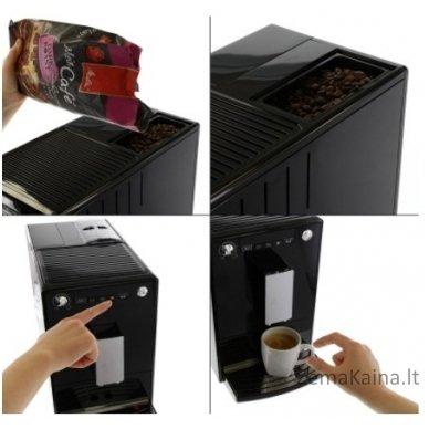 Kavos aparatas MELITTA E950-101 Solo juodas espresso 5