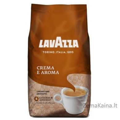Kavos pupelės LAVAZZA Crema e Aroma 1kg
