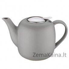 """Keraminis arbatinukas """"London"""" 1,5l pilkas"""