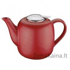 """Keraminis arbatinukas """"London"""" 1,5l raudonas"""