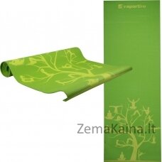 Kilimėlis jogai inSPORTline Spirit 172x60x0,3cm - Green