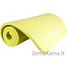 Kilimėlis treniruotėms inSPORTline Fity 140x60x1.5cm - Green Yelow