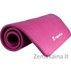 Kilimėlis treniruotėms inSPORTline Fity 140x60x1.5cm - Purple