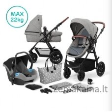 Kinderkraft XMOOV 3in1 Gray multifunctional cart
