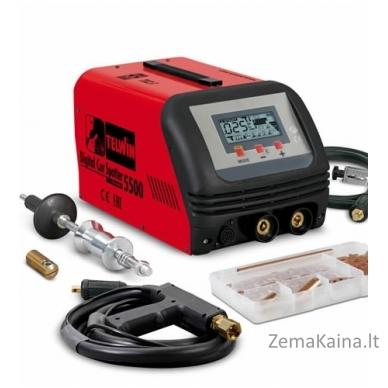 Kontaktinio suvirinimo įrenginys DIGITAL CAR SPOTTER 5500, Telwin