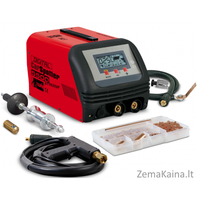 Suvirinimo įrenginys Telwin DIGITAL CAR SPOTTER 5500 230V + ACC