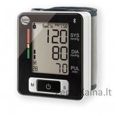 Kraujospūdžio matuoklis automatinis, riešinis Daga BPM-150 su Bluetooth funkcija