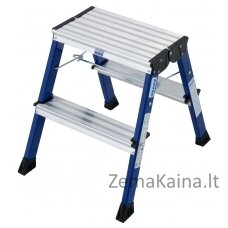 Kopėčios Krause Monto Rolly Folding Step 2x2 blue