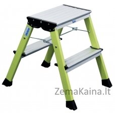 Kopėčios Krause Monto Rolly Folding Step 2x2 green