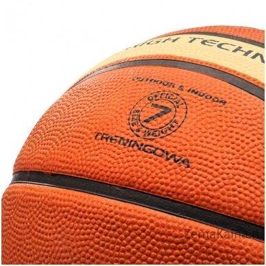 Krepšinio kamuolys METEOR FIBA brown/cream (7 dydis) 3