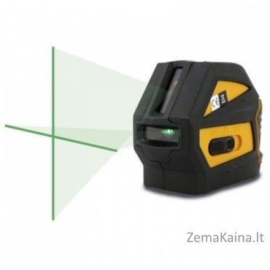 Kryžminis lazeris Nivel System CL-1G komplektas 2